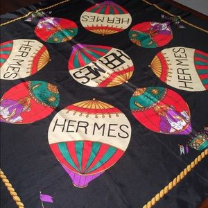 Beautiful Hermes scarf very soft